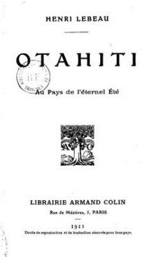 OTahiti, au pays de l'éternel été (1911)