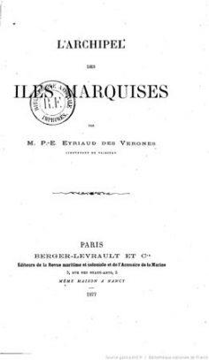 L'archipel des îles Marquises (1877)