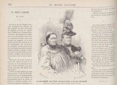 La reine Pomaré et son mari Ari-Faaité (1877)
