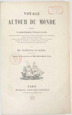Voyage autour du monde : contenant la description géographique et pittoresque des divers pays, l'esquisse des mœurs (1858)
