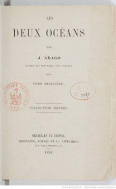 Les deux océans – Tome 3 (1854)