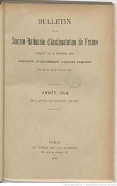 La vanille de Tahiti (1916)