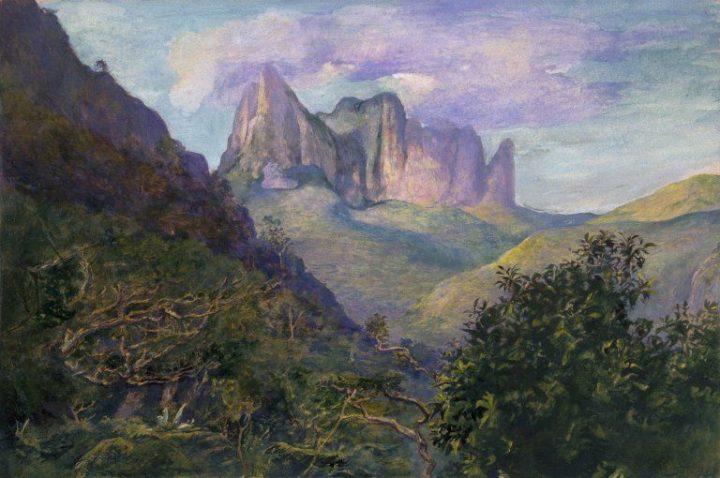 Coucher de soleil sur le Diadème (1891)