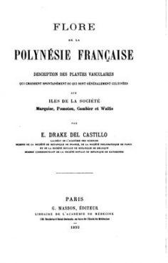 Flore de la Polynésie française (1893)