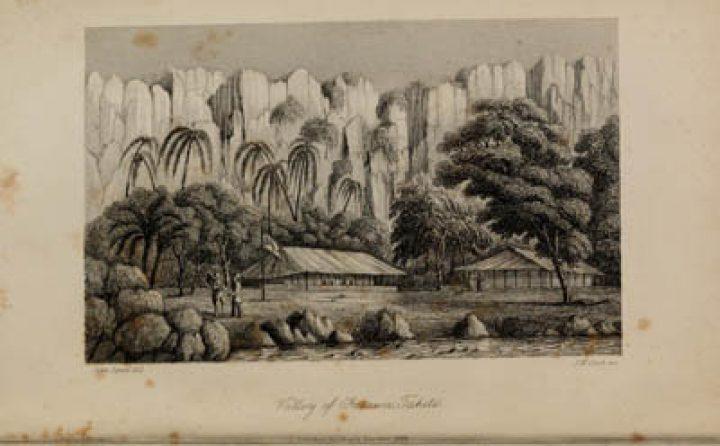 Valley of Fatawa – Tahiti (1849)