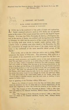 A history of Tahiti (1916)