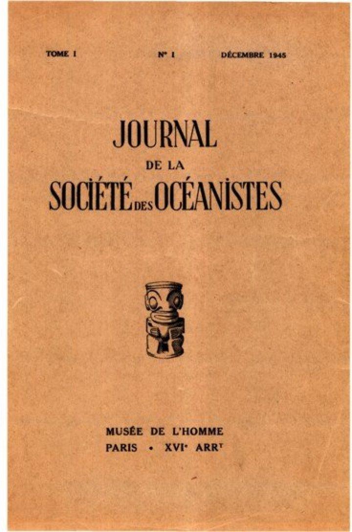 Bibliographie de l'Océanie 1939-1944