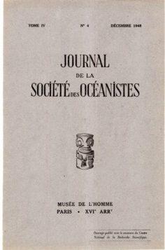 Magie et sorcellerie chez les indigènes de l'archipel Paumotu (1948)
