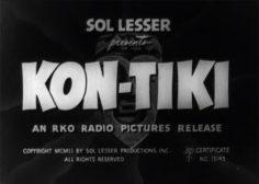 Kon Tiki (1951) – Film