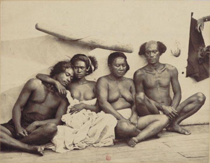 Indigènes des îles Marquises – Paul-Emile Miot (1870)