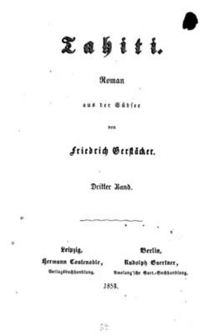 Tahiti : Roman aus der Südsee – Volume III