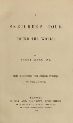 A sketcher's tour round the world (1854)