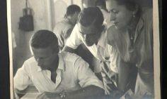 Visite de Thor Heyerdahl au Musée de Papeete