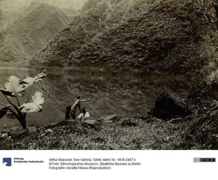Lac Vaihiria – Arthur Baessler (1896)